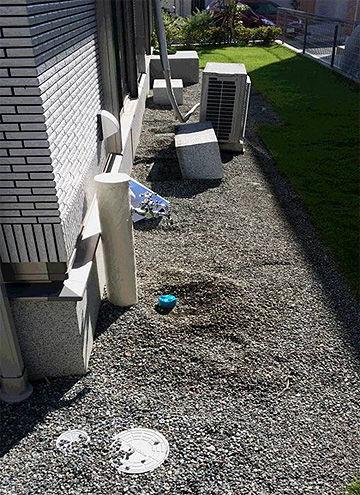 川崎市 はるひ野 M様邸 お庭の改修 工事前写真