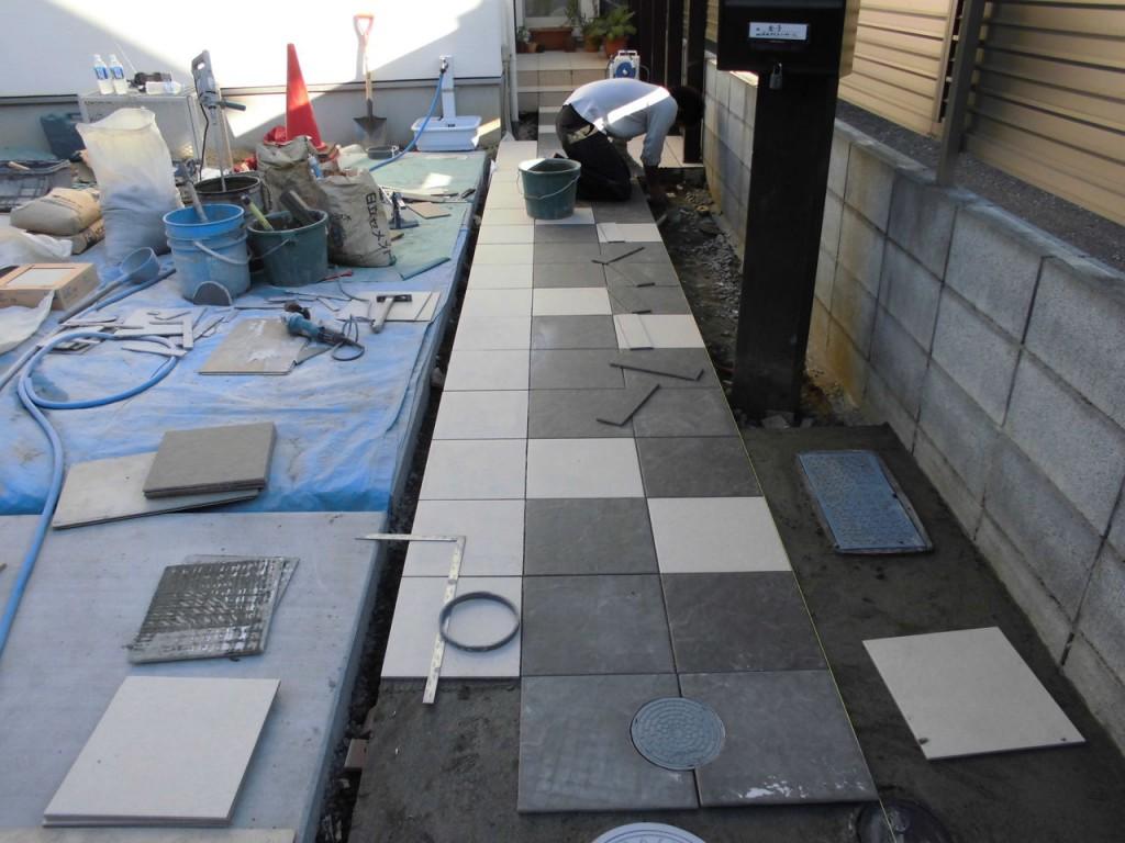 稲城市 K様邸 ご新築に伴う外構工事