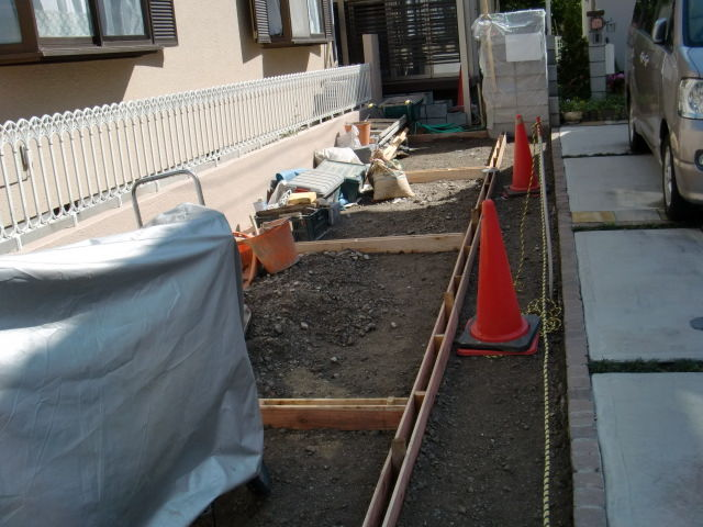 稲城市 M様邸 工事開始