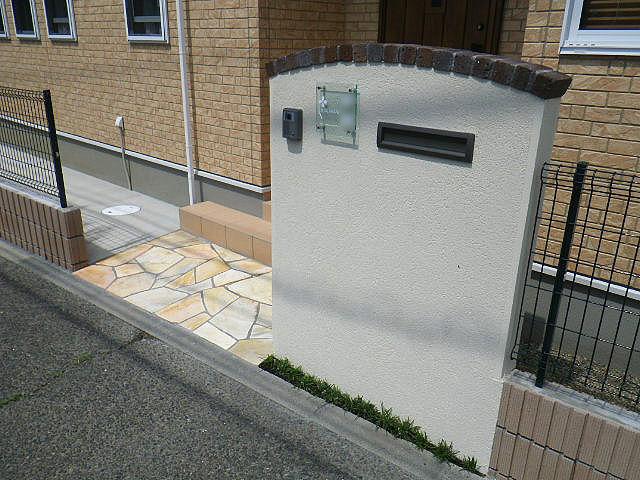 稲城N様邸 完成写真 「外観・エントランス」