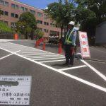 私立校 土留石改修工事安全対策