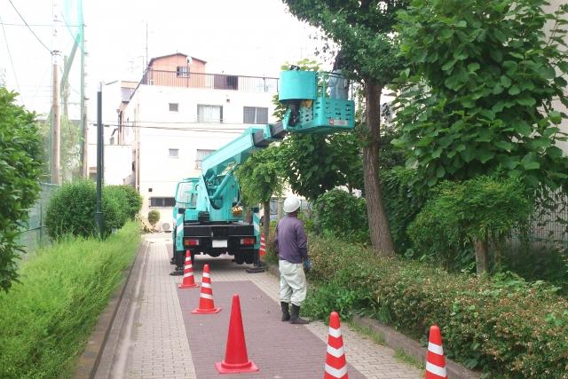 植木の公共工事イメージ